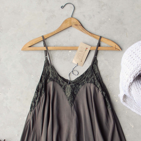 Linden Layering Tunic in Dark Sage: Featured Product Image