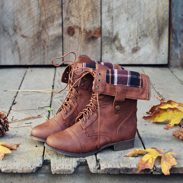 The Lodge Boots in Rust: Featured Product Image