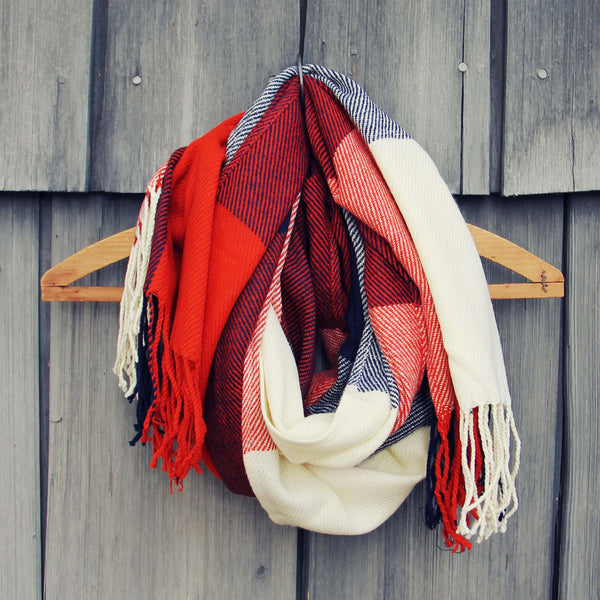 The Lodge Plaid Scarf: Featured Product Image