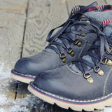 The Logger Boots in Gray: Alternate View #2