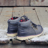 The Logger Boots in Gray: Alternate View #3