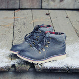 The Logger Boots in Gray: Alternate View #1