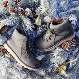 The Logger Boots in Gray: Alternate View #4