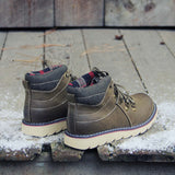 The Logger Boots in Sage: Alternate View #3