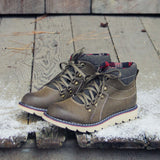 The Logger Boots in Sage: Alternate View #1