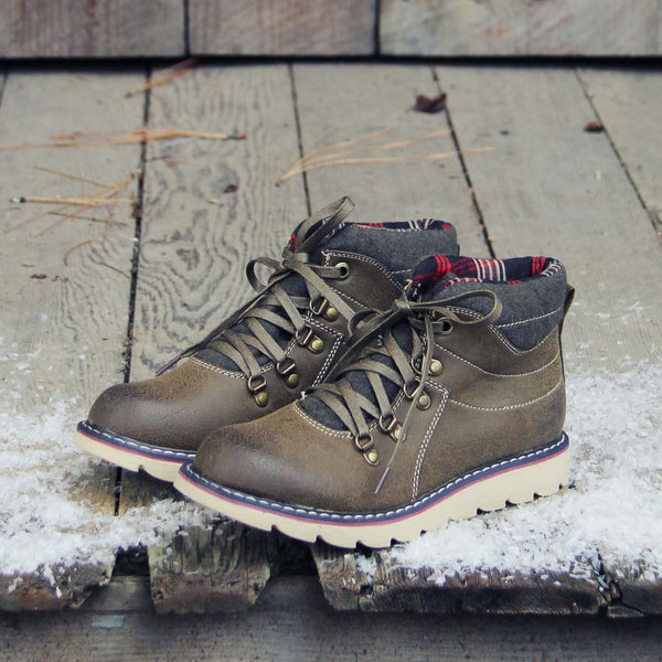 The Logger Boots in Sage: Featured Product Image