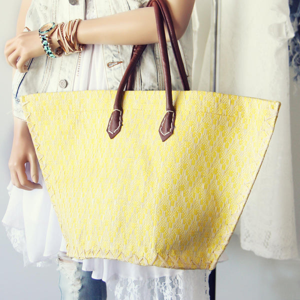 The Market Tote: Featured Product Image