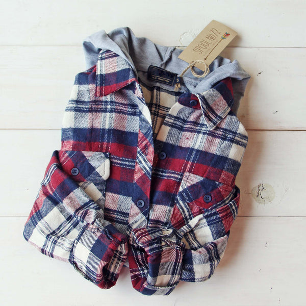 The Missoula Plaid Hoodie: Featured Product Image