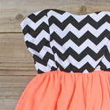 The Mohave Chevron Dress: Alternate View #2
