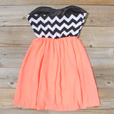 The Mohave Chevron Dress: Alternate View #4
