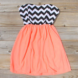 The Mohave Chevron Dress: Alternate View #1
