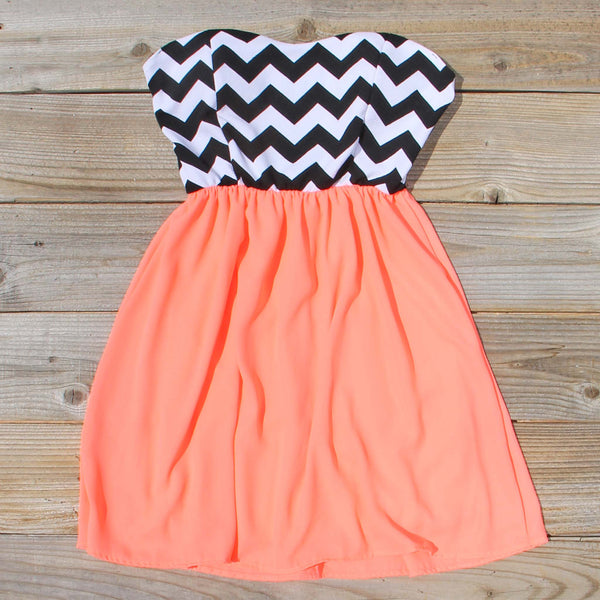 The Mohave Chevron Dress: Featured Product Image