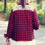 The Lumberjack Sherpa Top: Alternate View #4