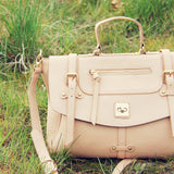 The Nash Tote in Blush: Alternate View #2