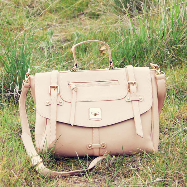 The Nash Tote in Blush: Featured Product Image