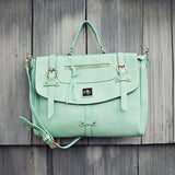 The Nash Tote in Mint: Alternate View #1