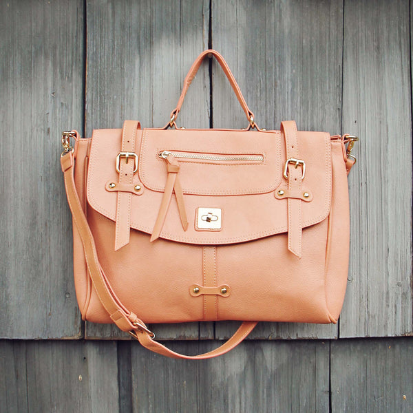 The Nash Tote in Peach: Featured Product Image