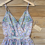 The Nile Romper in Blue: Alternate View #2