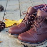 The Nor'wester Boots in Brown: Alternate View #3