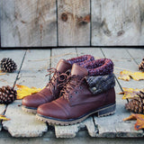 The Nor'wester Boots in Brown: Alternate View #2