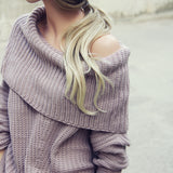 The Nubby Knit Sweater: Alternate View #6