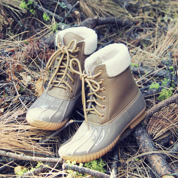 The Cozy Duck Boot: Featured Product Image