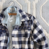 The Plaid Barn Coat: Alternate View #2
