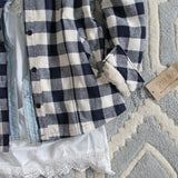 The Plaid Barn Coat: Alternate View #3