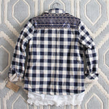 The Plaid Barn Coat: Alternate View #4