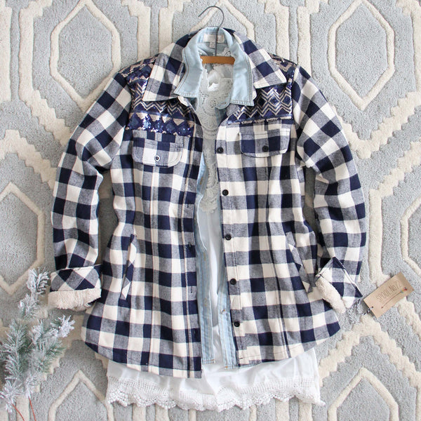 The Plaid Barn Coat: Featured Product Image
