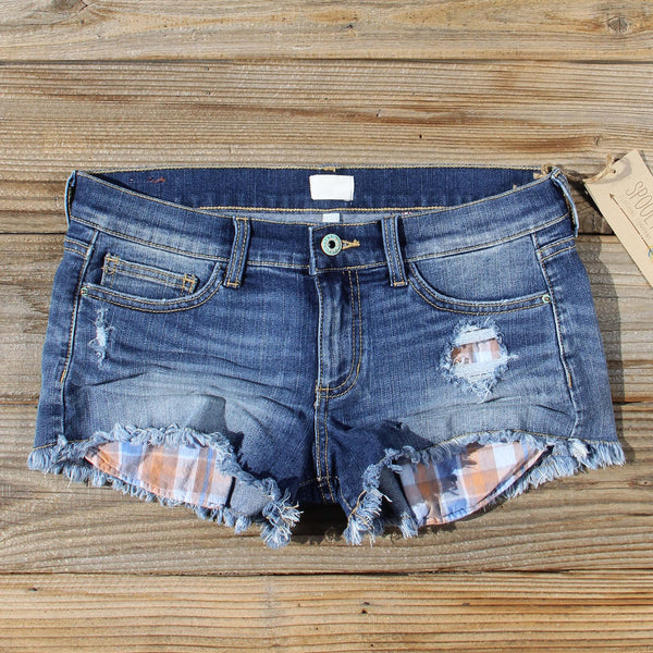 Ranger Plaid Shorts: Featured Product Image