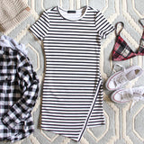 The Riley Stripe Dress: Alternate View #2