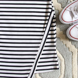 The Riley Stripe Dress: Alternate View #3