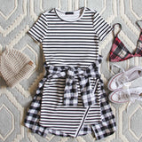 The Riley Stripe Dress: Alternate View #1