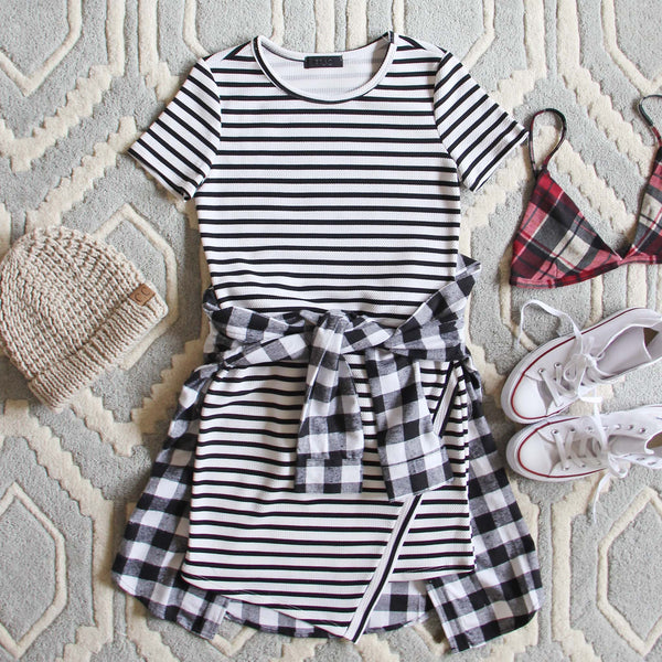The Riley Stripe Dress: Featured Product Image