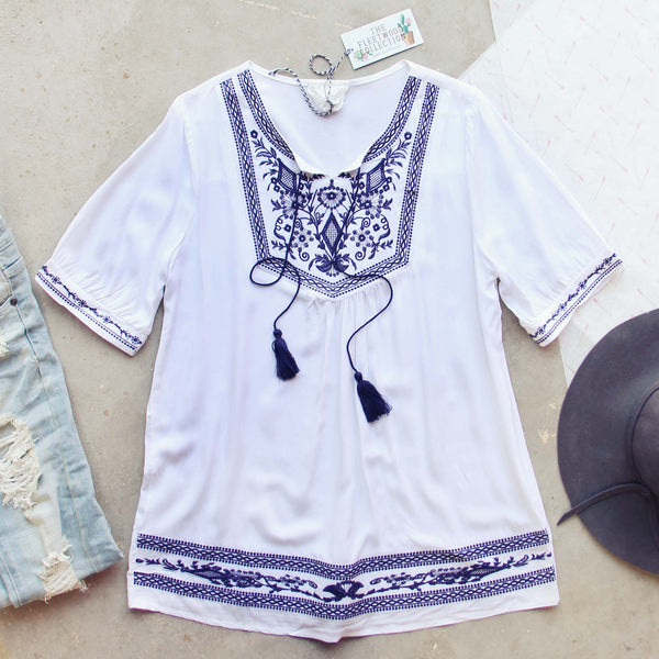 The Roe Embroidered Tunic: Featured Product Image