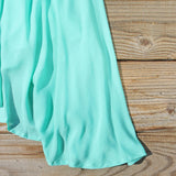 The Sable Dress in Turquoise: Alternate View #3