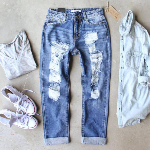 Sandstone Boyfriend Jean: Featured Product Image