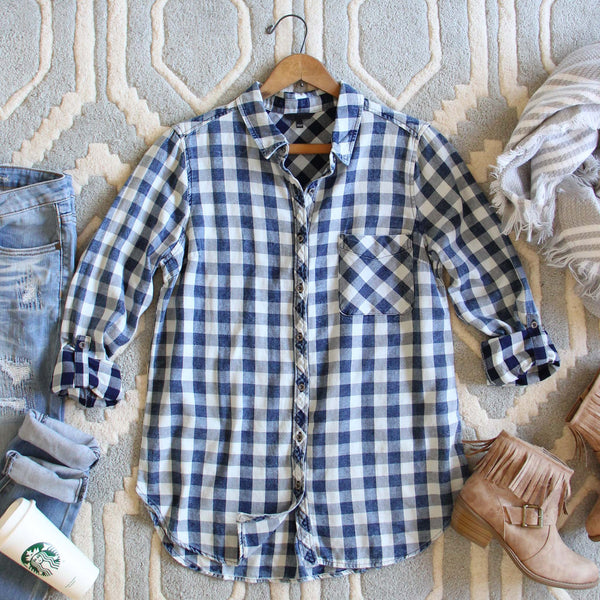 The Scout Plaid Top: Featured Product Image