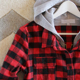The Seattle Plaid Hoodie: Alternate View #3