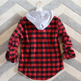 The Seattle Plaid Hoodie: Alternate View #4