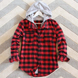 The Seattle Plaid Hoodie: Alternate View #2