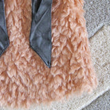 The Teddy Vest in Blush: Alternate View #3