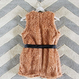The Teddy Vest in Blush: Alternate View #4