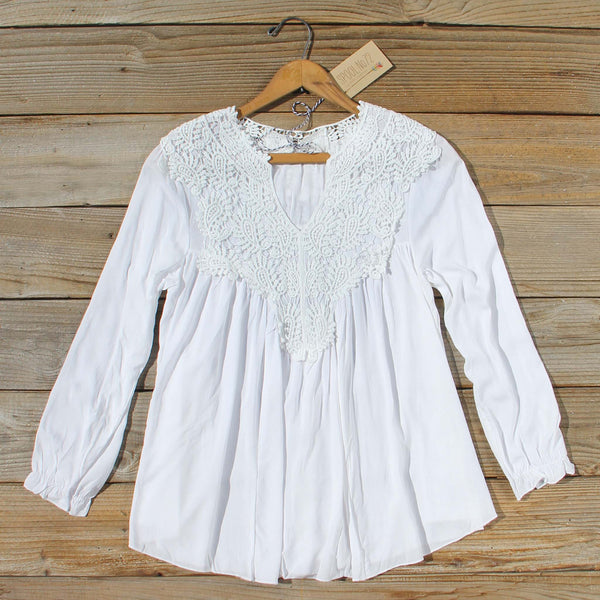 The Shaded Sky Blouse: Featured Product Image