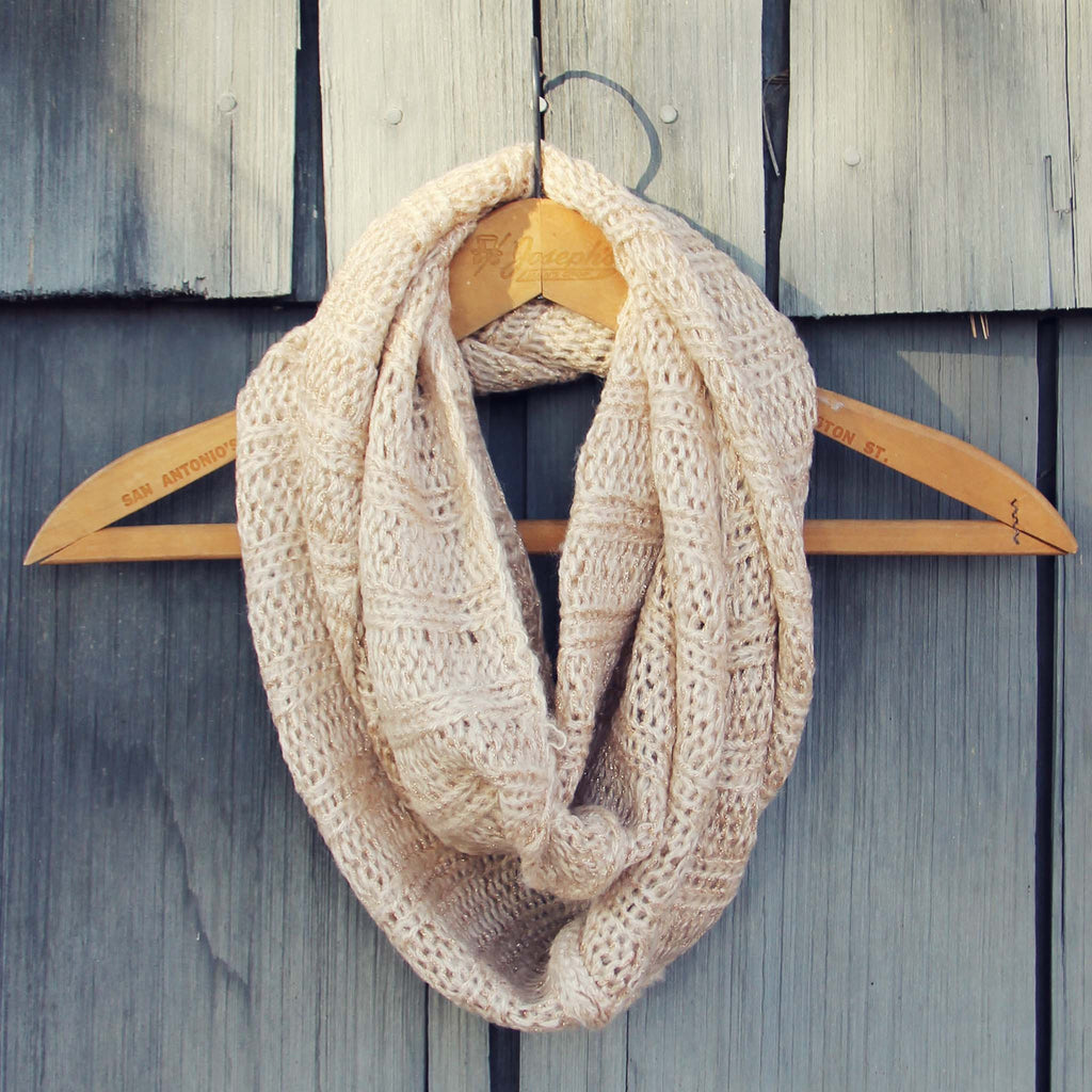 The Slopes Infinity Scarf Cozy Knit Scarves From Spool 72 Spool