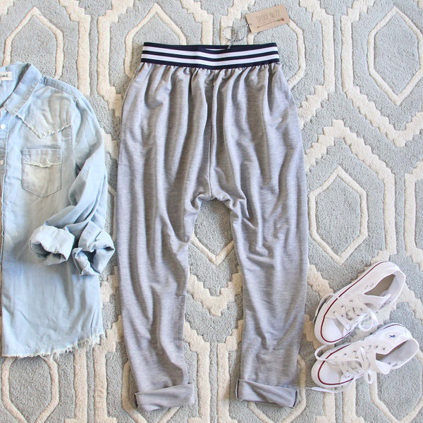 The Slouchy Joggers: Featured Product Image