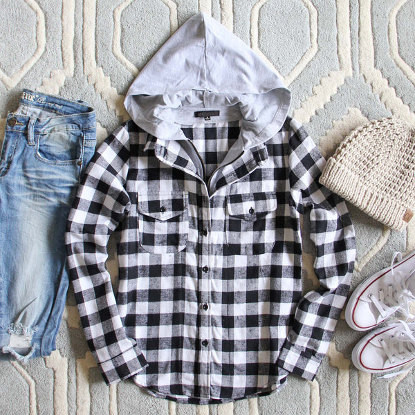 The Spokane Plaid Hoodie: Featured Product Image