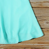 The Sunseeker Dress in Turquoise: Alternate View #3
