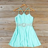 The Sunseeker Dress in Turquoise: Alternate View #4